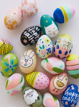 2018 Easter egg decorating: Ideas from designers and illustrators