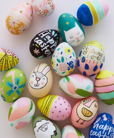 Easter Egg Workshop | thinkmakeshareblog.com