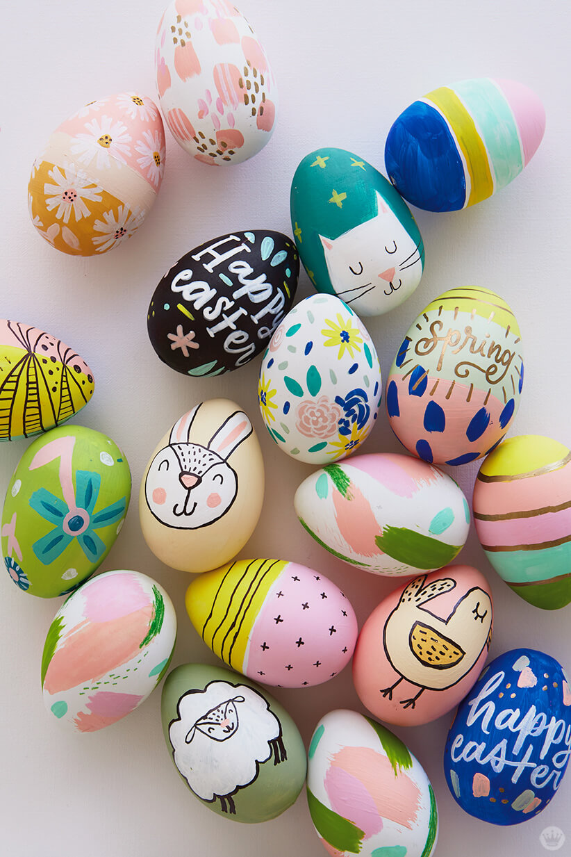 decorating easter eggs 2018 easter egg decorating ideas from designers and 30851