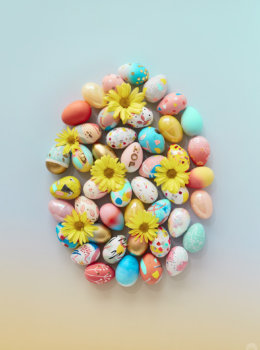 2019 Easter egg decorating ideas
