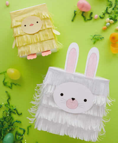 Gifts archives thinkkeare turn boxes into bunnies and chicks with kids easter gift wrap ideas negle