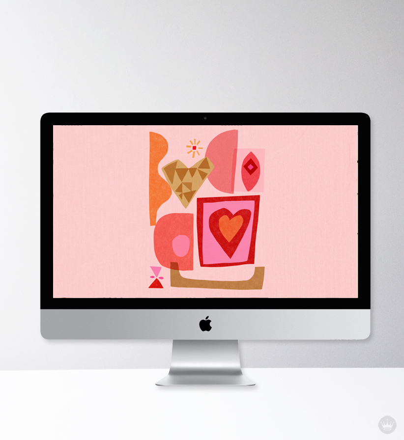 Download these free digital wallpapers for desktop and iphone for this season of love | thinkmakeshareblog.com