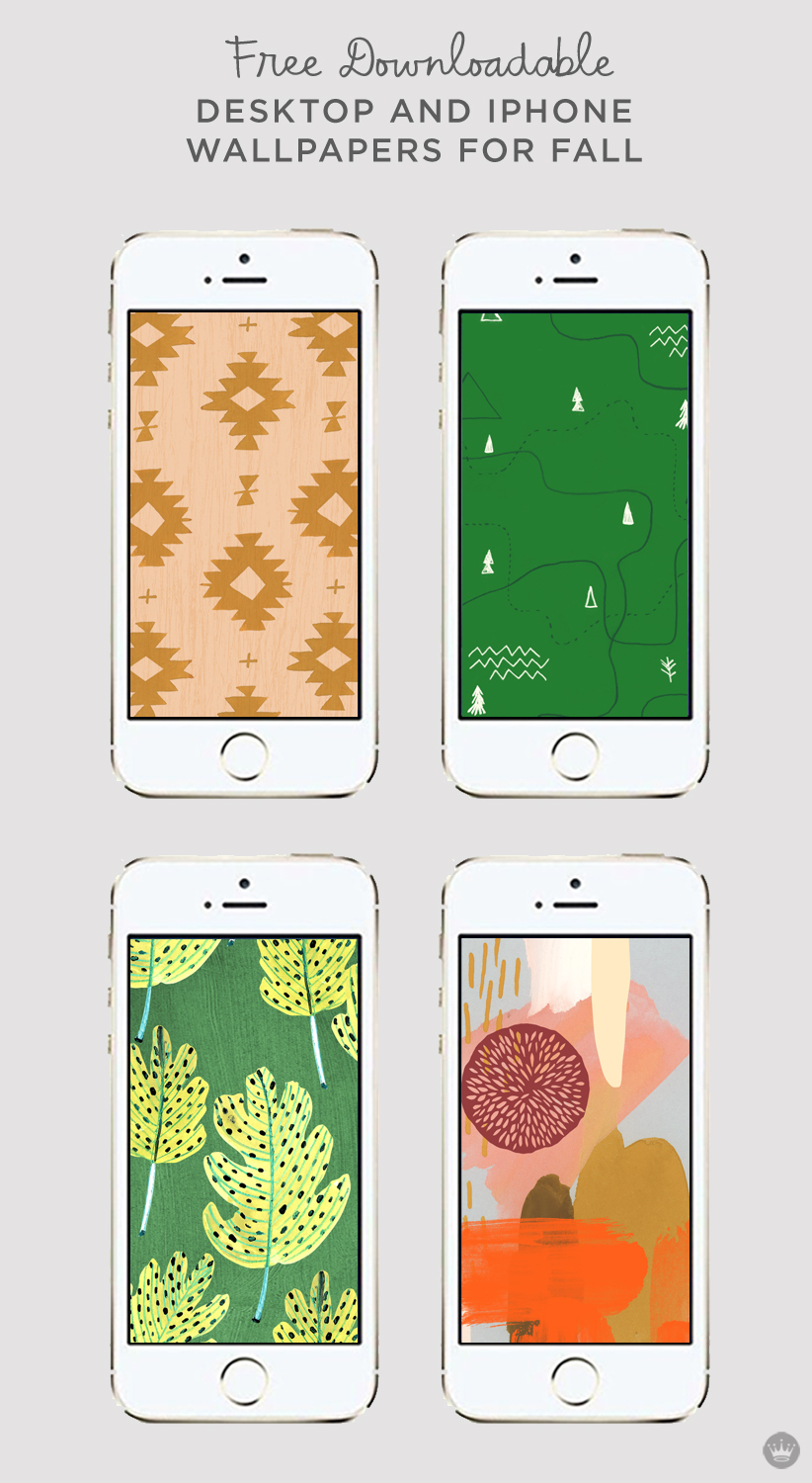 november digital wallpapers celebrate fall - think.make.share.