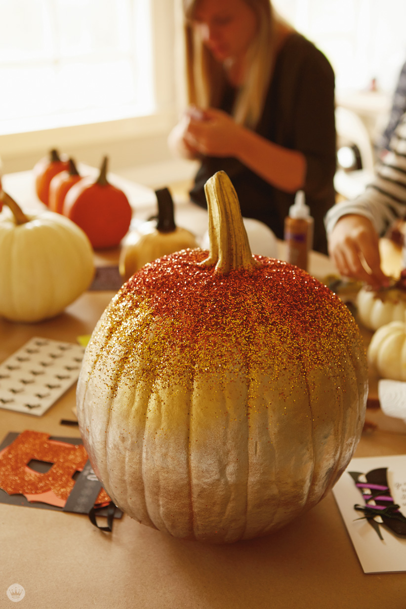 Decorating Pumpkins With Signaturestyle Think Make Share