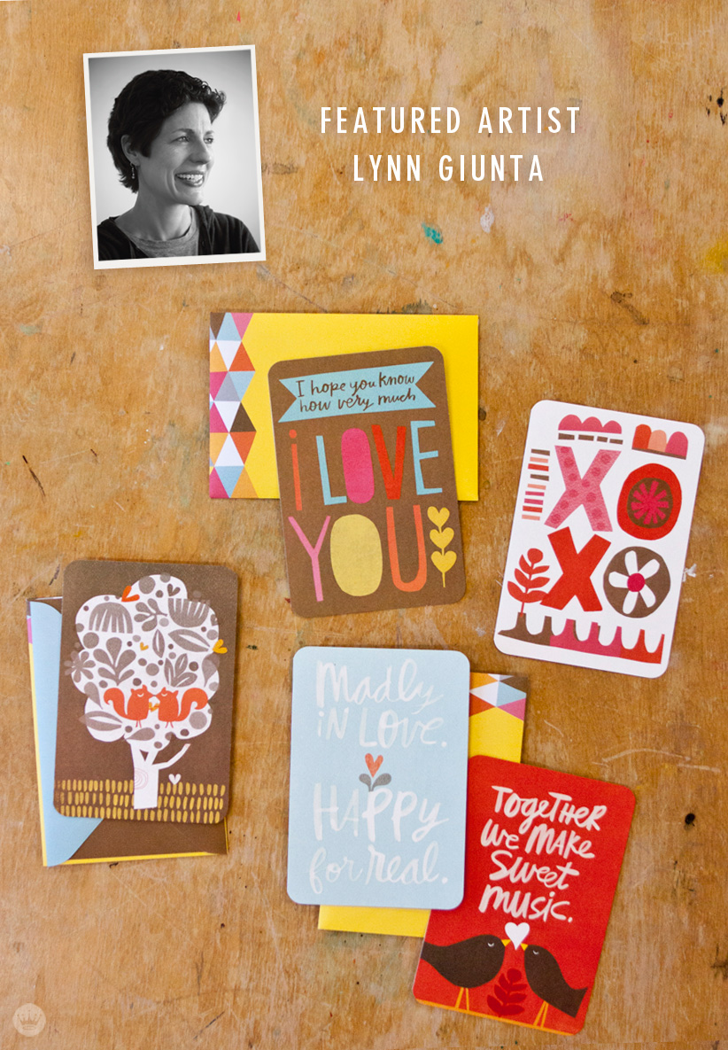 Hallmark Artist Spotlight on Lynn Giunta | lead | thinkmakeshareblog.com