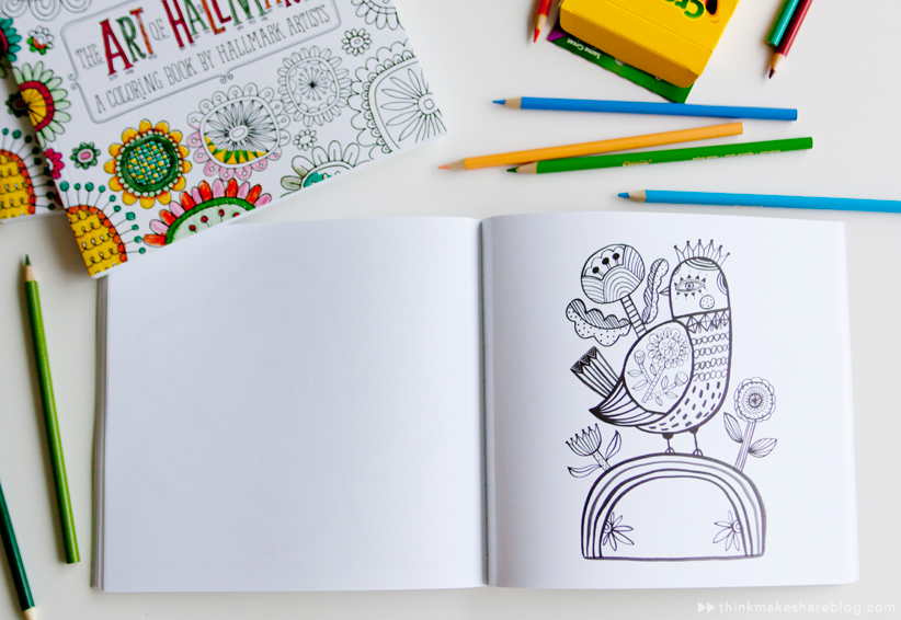 Introducing A New Coloring Book From Hallmarkfor Grown Ups