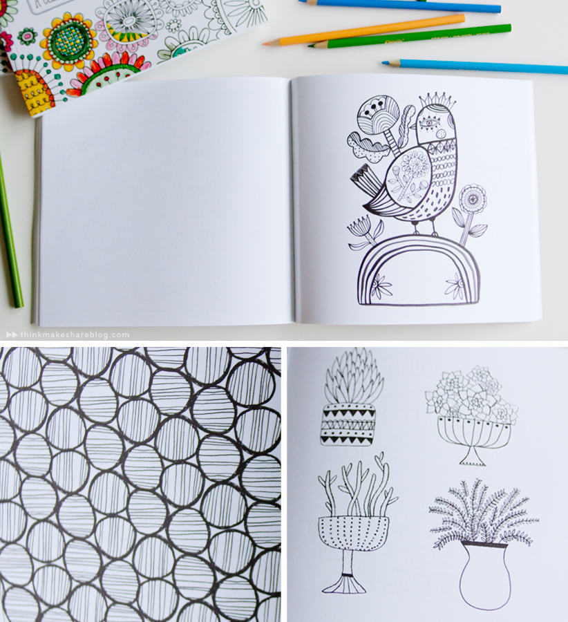 Introducing a new coloring book from Hallmark...for grown-ups ...