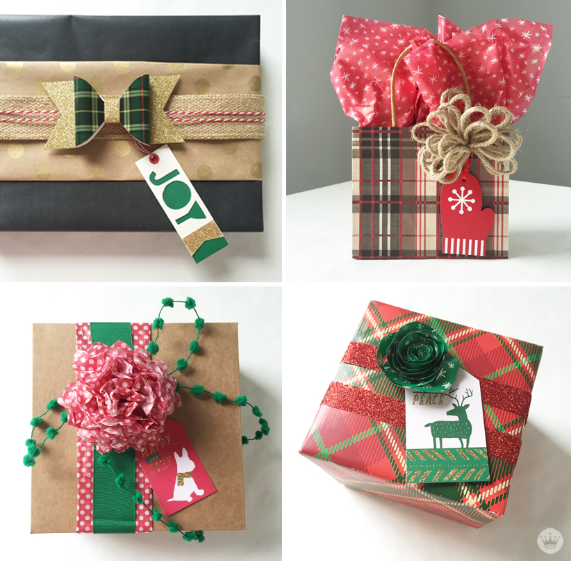 New DIY gift wrap kits make creative wrapping easy - Think.Make.Share.