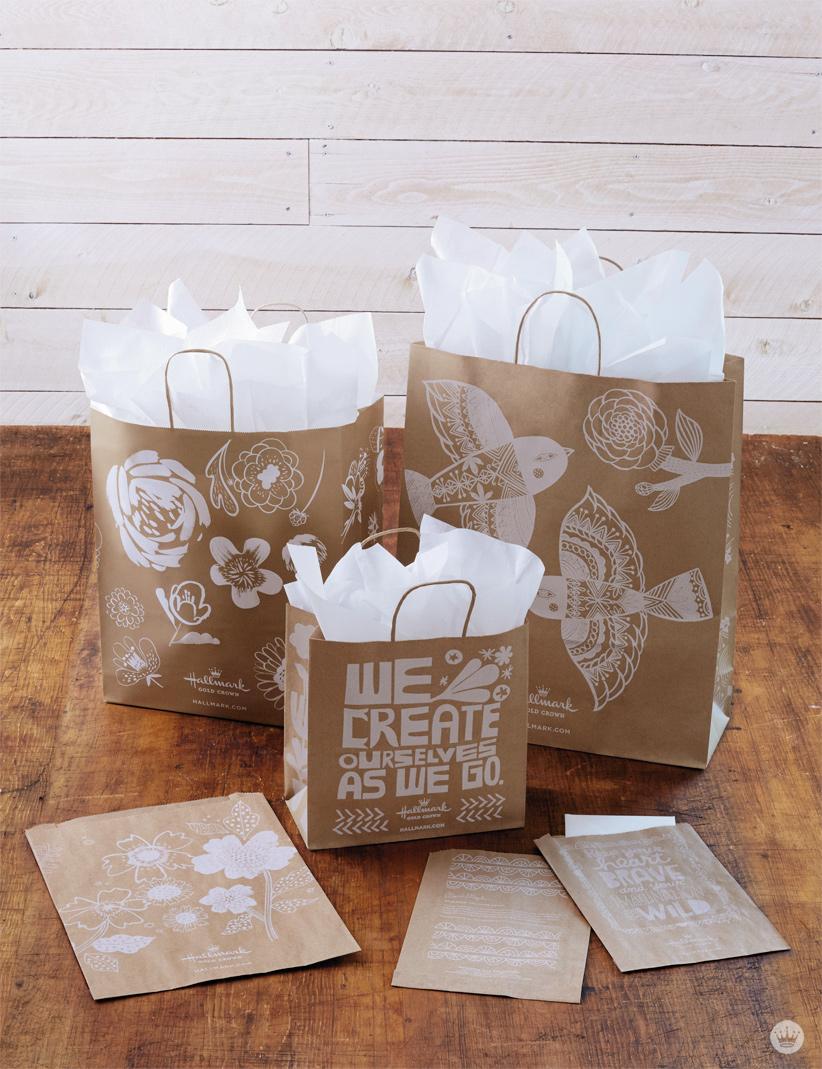 Hallmark gold crown debuts their new artist bag and box collection hallmark gold crown store bag refresh thinkmakeshareblog negle Gallery