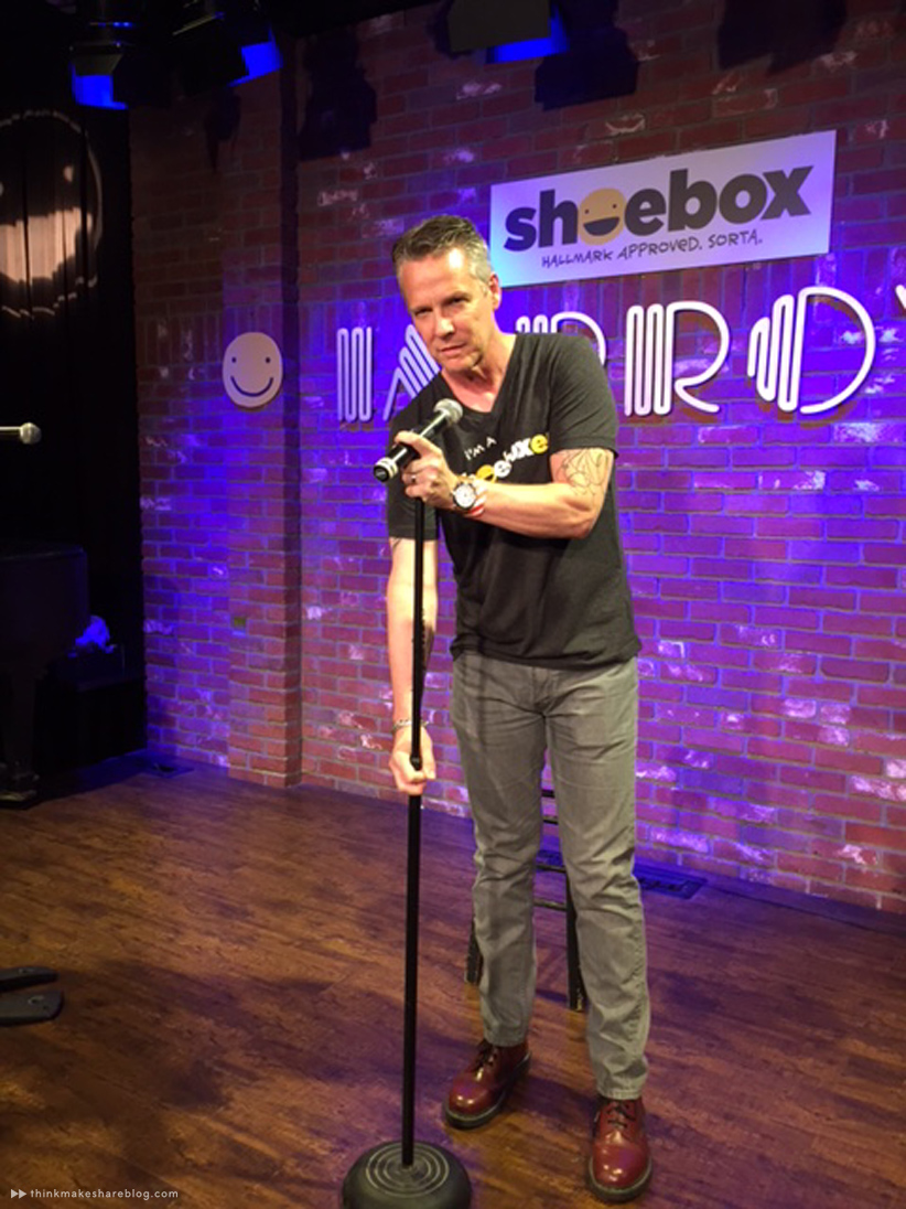 Hallmark Shoebox writer Dan Taylor on the improv stage with Rob Riggle and friends | Hallmark Cards | thinkmakeshareblog.com