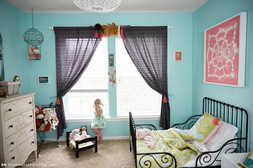 Hallmark Designer Tuesday Spray Shares Her Daughteru0027s Big Girl Room |  Thinkmakeshareblog.com ...