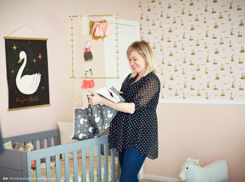 Hallmark Designer Tuesday Spray Shares Her Daughteru0027s Big Girl Room |  Thinkmakeshareblog.com