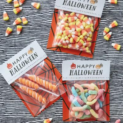 Halloween Treat Bag | thinkmakeshareblog.com