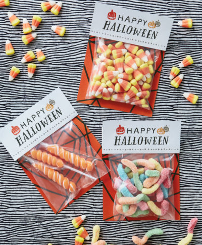 Halloween Treat Bag | thinkmakeshareblog.com