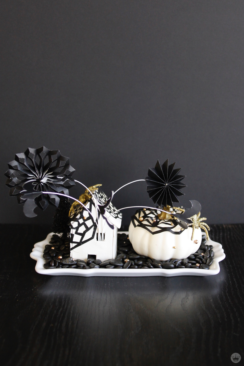 Make your own halloween decorations miniature haunted for Make your own halloween decorations