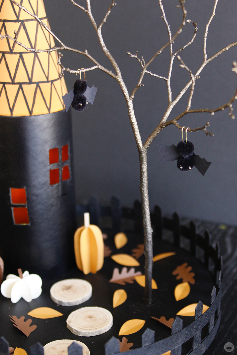 Make Your Own Halloween Decorations Miniature Haunted Houses Think Make Share