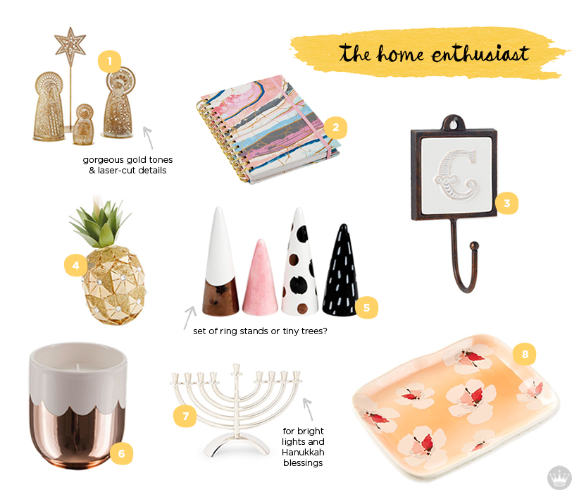 holiday hostess gift guide for the home enthusiast