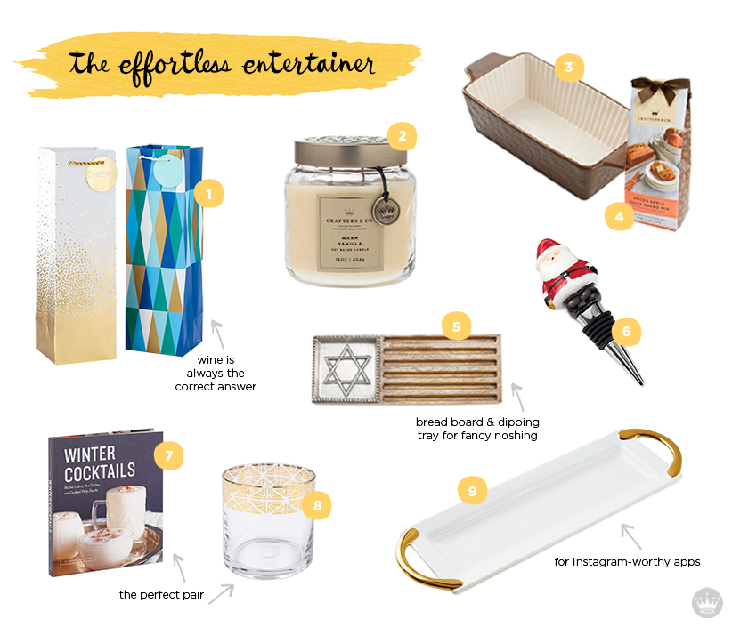 holiday hostess gift guide for the effortless entertainer