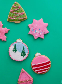 2018 cookie decorating trends: Royal icing inspo with all the sprinkles