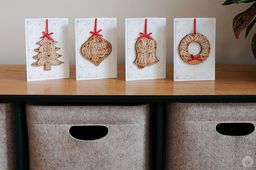 Jessica Hische's collaboration with Signature on Christmas cards for Hallmark