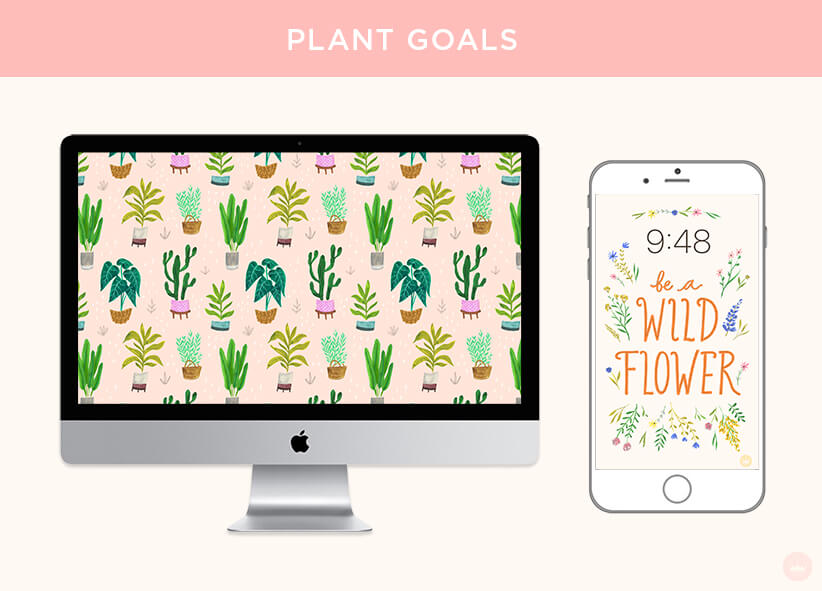 PLANT GOALS: FREE JUNE 2018 DIGITAL WALLPAPERS