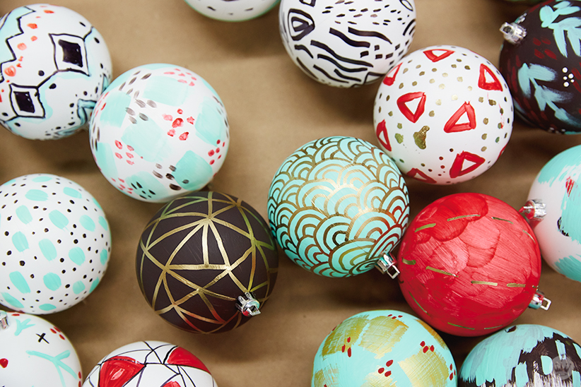 diy ornament ideas inspiration for painting your own decorations