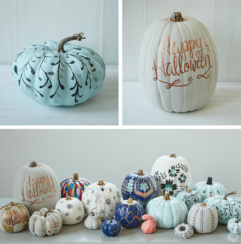 What Kind Of Paint Can You Use On Pumpkins