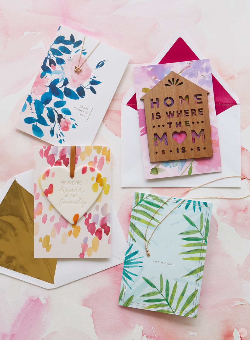 Cards from the Hallmark Signature Mother's Day collection