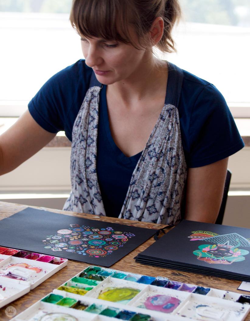 Mirna Stubbs Studio Ink collection | thinkmakeshareblog.com