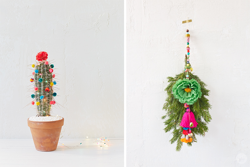 Modern Christmas Decor Ideas | thinkmakeshareblog.com