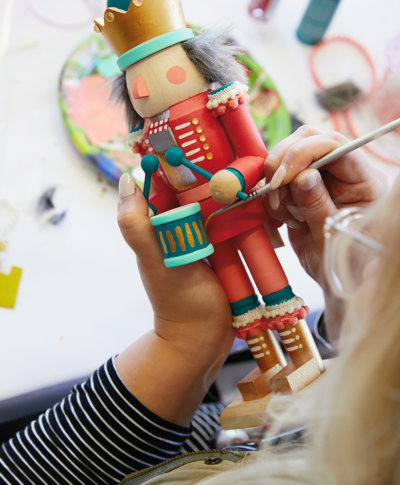 Nutcracker Workshop | thinkmakeshareblog.com