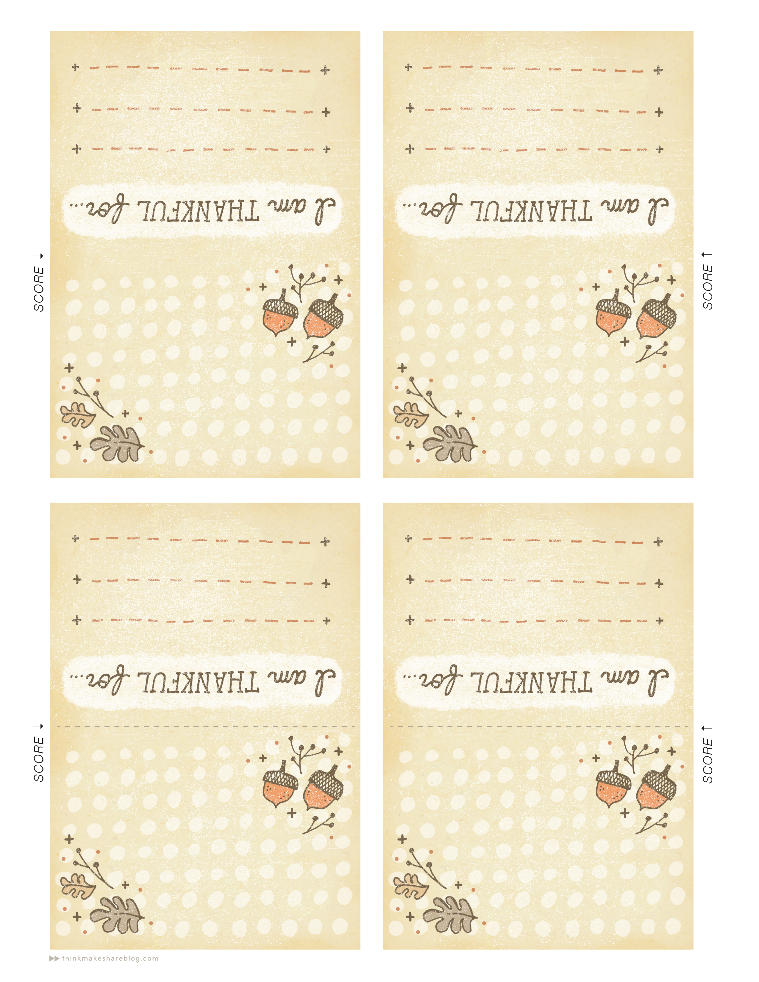 download your printable thanksgiving or friendsgiving place cards here