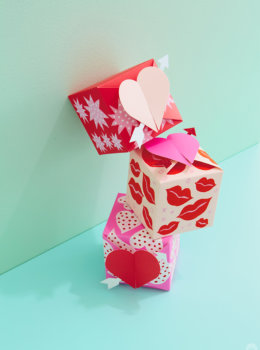 DIY Valentines gift box decorations: Make something sweet even sweeter