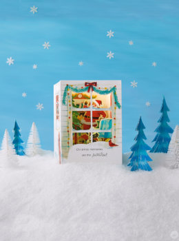Paper Wonder cards capture a little bit of Christmas magic