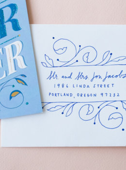 "Wedding envelope art: Say ""congrats"" in an extra-special way"