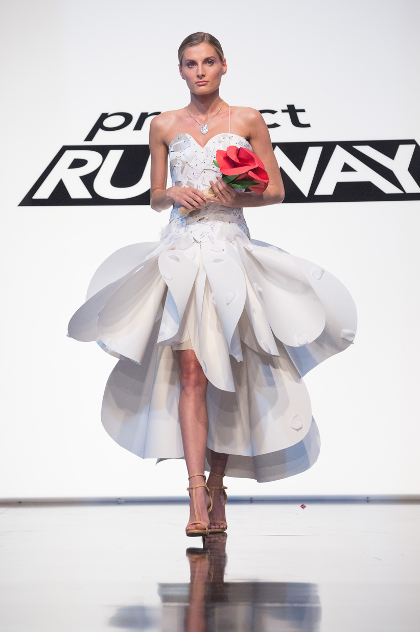 """project runnway Project runway destined to be the next """"it"""" collection for fashion lovers, this innovative line features high-end looks, intricate design elements, bold color palettes and on-trend shapes that have been translated straight from the runway to the real world."""