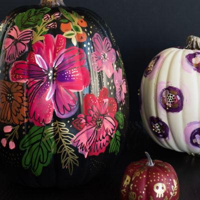 Pumpkin Painting | thinkmakeshareblog.com