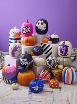 Our absolute best, totally essential pumpkin painting tips