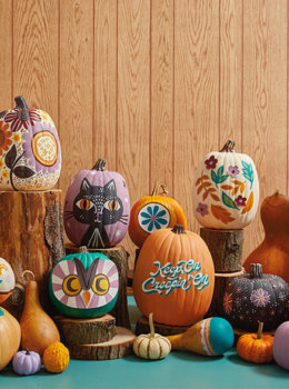 Get festive this fall with our 2020 decorated pumpkins