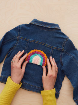 Punch needle patches: Cute, cozy projects for cold nights