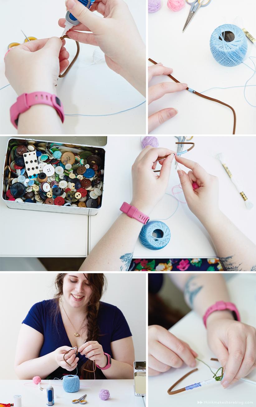 Rainbow Friendship Crafts | thinkmakeshareblog.com