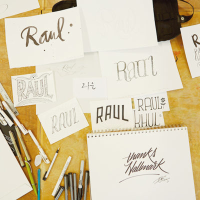 Raul Lettering Workshop | thinkmakeshareblog.com