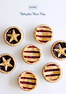 Recipe | Patriotic Mini Pies | thinkmakeshareblog.com