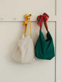DIY pillowcase tote: Put your spring things in this easy-to-make bag