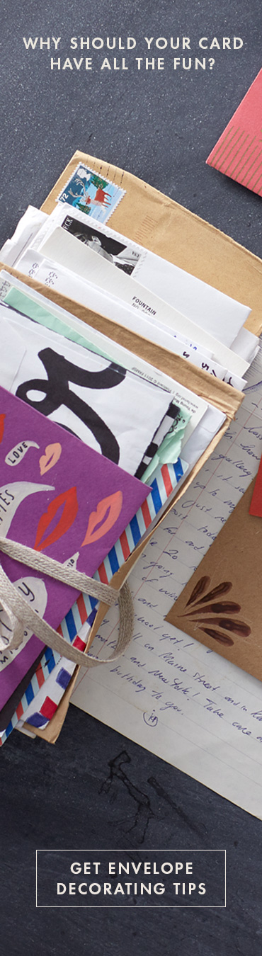envelope decorating tips and tricks from hallmark artists
