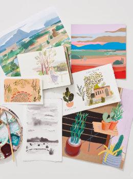 Plein air painting tips from an artist trip to Santa Fe