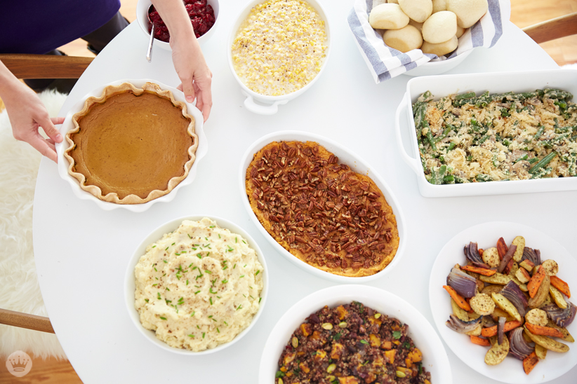 Sides Only Friendsgiving Menu | Gimme Some Oven + thinkmakeshareblog.com