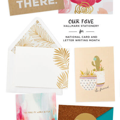 Hallmark stationery round up | thinkmakeshareblog.com