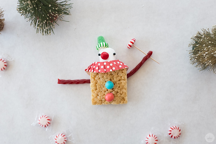 Sweet treat Christmas clown
