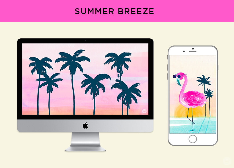 Free downloadable SUMMER BREEZE computer and phone wallpapers